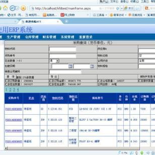 电源ERP系统销售和开发图片