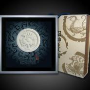 西安福字瓦当相框礼品图片