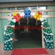 供应河源服装店气球装饰,男女装气球装饰,童装店气球装饰.图片