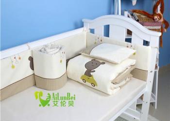 的婴儿床上用品深圳艾伦贝图片