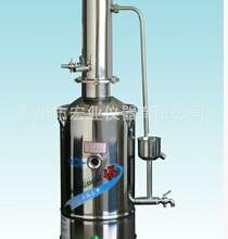 供应电热蒸馏水器,上海三申DZ10,医用蒸馏水发生器 10升图片