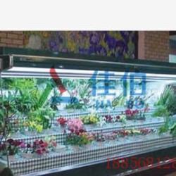 供應北京鮮花風幕櫃花店保鮮展示櫃