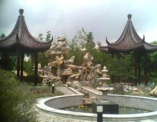 园林绿化景观古建木凉亭图片