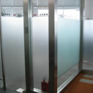 北京防爆磨砂膜玻璃幕墙装饰膜图片