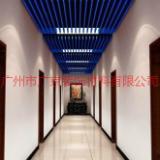 供应走廊吊顶铝方通,30底70高蓝色铝方通,木纹铝方通,造型吊顶铝方通天花