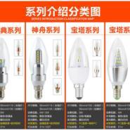 E14小螺口蜡烛灯图片