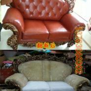 家庭沙发翻新换皮维修海绵图片