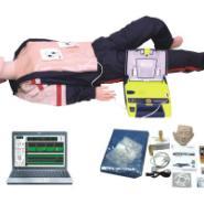 电脑高级心肺复苏AED除颤仪模拟人图片