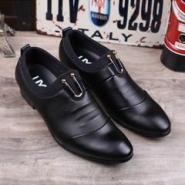 时尚男鞋韩版尖头皮鞋英伦商务图片