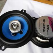 汽车5寸喇叭蓝色MUISKING汽车音响图片