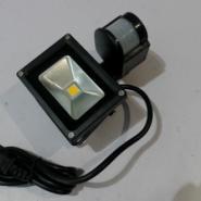 供应10W楼道人体感应LED投光灯卫生间楼道感应人体10WLED投光灯