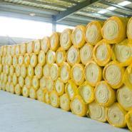低价阻燃贴面玻璃棉卷毡厂家图片