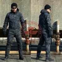 供应酋长斑纹迷彩战术套服、潜行者套服、迷彩服、迷彩罩衣