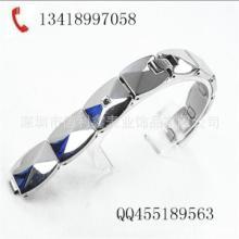供应龟贝壳镶石表带,女式不锈钢表带,高档优质手表配件,深圳市厂图片