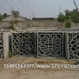 供应用于砖细的水泥花窗 围墙水泥花窗