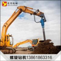 供应土层钻孔螺旋钻机,地基桩土层钻孔螺旋钻机