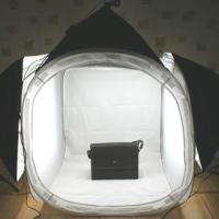 供应正品80cm大型摄影棚柔光箱套装单灯头通用摄影灯箱产品拍照道具摄影器材补光灯具