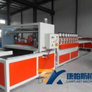 PVC木塑结皮发泡板材生产线图片