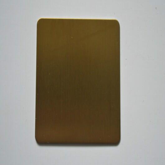 供应用于装饰电梯|厨柜卫浴的彩色不锈钢拉丝板