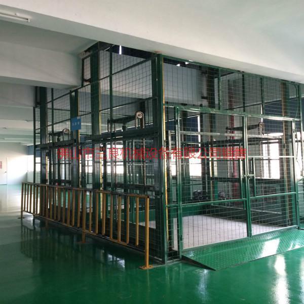 供应丹灶液压导轨式升降吊笼制造商,佛山导轨式液压货梯厂家