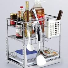 供应橱柜拉篮,厨房收纳拉篮,太太的好帮手碗碟拉篮