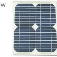 10W单晶太阳能电池板图片