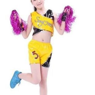 男女童表演服现代舞服儿童演出服装图片