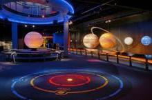 天地方圆直供太阳系静态展示内发光八大行星 天文展示演示用品教学仪器图片