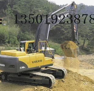 二手玉柴135挖掘机图片