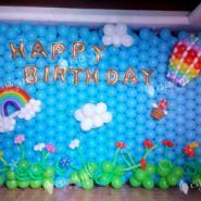楼盘气球装饰/大溪谷气球装饰图片