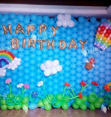 气球装饰图片/气球装饰样板图 (1)