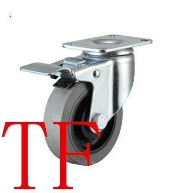 TF313款中型刹车防静电导电脚轮/耐磨静音脚轮/环保脚轮广东脚轮