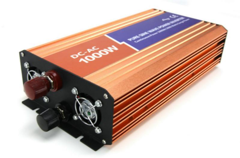 供应1000W纯正弦波高频大功率逆变器12V/24V/48V转220V1KW逆变器