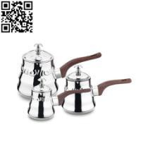 供应不锈钢A型咖啡壶热奶壶/出口咖啡壶/厂家直销图片