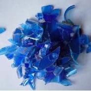 双壁波纹管内壁专用蓝色PE颗粒图片