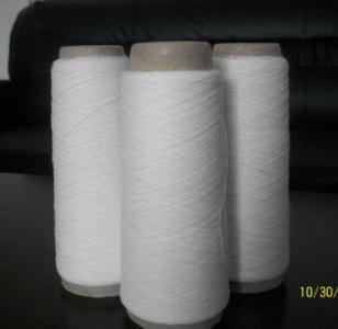 普梳气流纺70/30仿大化涤棉纱线10s图片