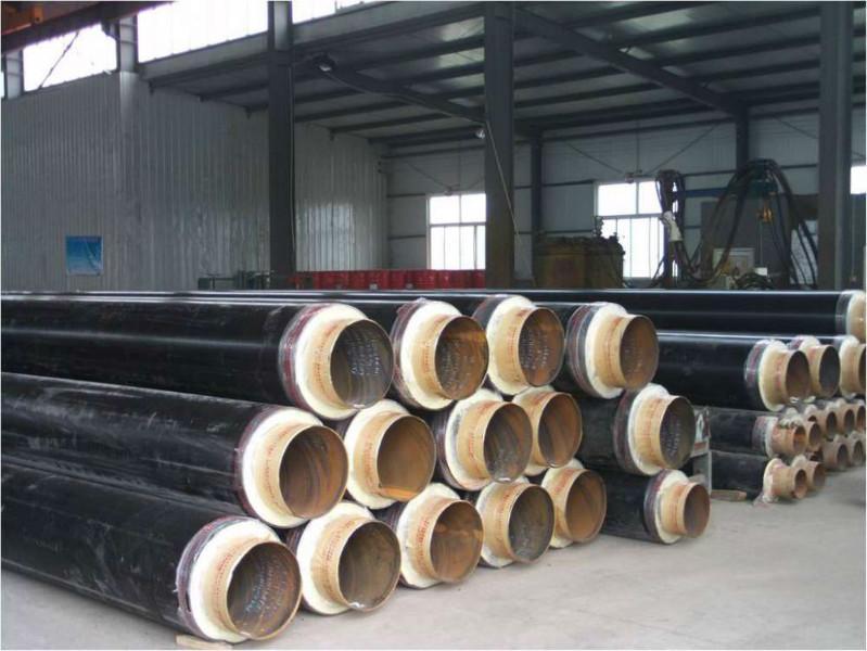 供应聚氨酯发泡大口径无缝保温钢管