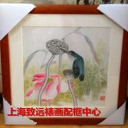 上海裱画配框图片