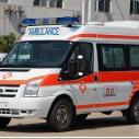 三亚长途救护车出租三亚120救护图片