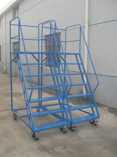 供应移动式登高车 登高梯 折叠式登高车 重型登高车