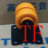 602款低重心PU定向双轮/广东哪家脚轮卖的比较好?就在TF脚轮
