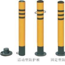 供应龙岩钢铁警示柱防撞杆50cm钢铁警示柱道口标柱交通警示柱防撞杆图片