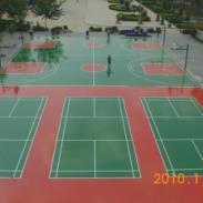 东莞篮羽球场漆图片
