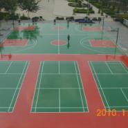 东莞篮羽球场油漆图片