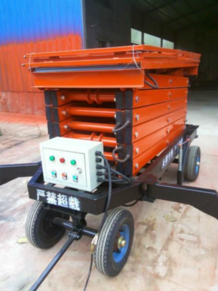 供应吉林移动剪叉式液压升降机 四轮移动式升降平台 辅助行走式升降平台 高空作业平台
