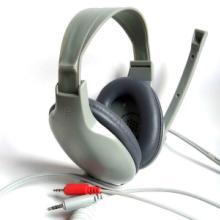 厂家供应 语音室教学头戴式耳机 硬管 匹配松下语音室系统868 语音室教学耳机头戴式