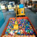 供应360度旋转儿童挖掘机全新的液压系统让齐力牌儿童游乐挖掘机更出彩