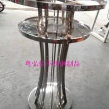 供应晋城会所不锈钢茶几厂家 KTV不锈钢发光茶几厂家批发