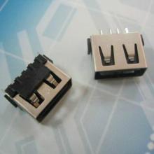 供应USB接口短体 10.0AF 180度立式插板 WIFI母座