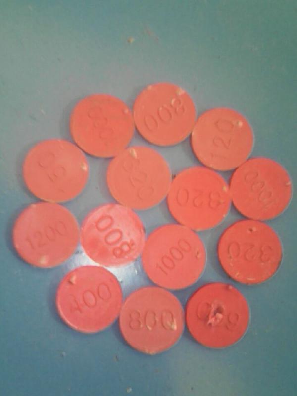 润田厂弹性模块上面的圆点(浮水红色乙料)供应